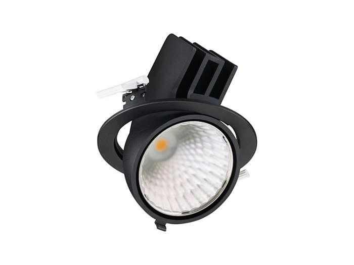 GreenSpace Accent (RS342B), herausschwenkbare LED Einbaustrahler; hochwertige Materialien als Basis für lange Lebensdauer und passive Kühltechnologie