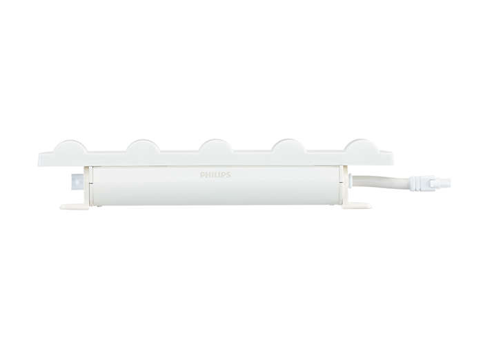 PureStyle IntelliHue Powercore LED fixture, side view