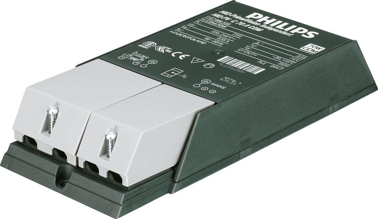 PrimaVision Compact (35 W, 50 W i 70 W) dla CDM — wysoka jakość i zwiększona wydajność