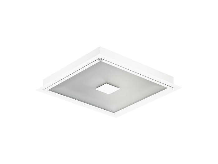 Cleanroom LED CR446B innfelt armatur