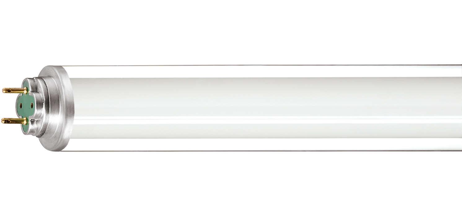 Iluminação fluorescente para ambientes frios