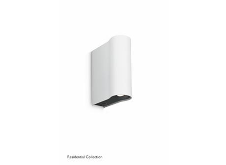 Pytha wall lamp white 2x2W SELV