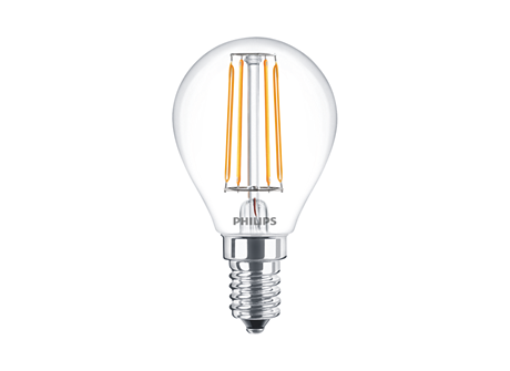 CLA LEDLuster ND 4-40W P45 E14 827 CL