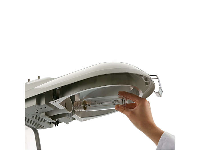 Lamp easy to replace
