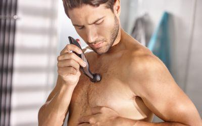 Rakapparat för kroppen män