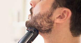 Trimma ett kort skägg
