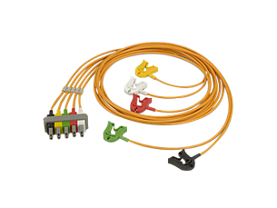Cbl OR 5-lead grabbers safety Lead Set