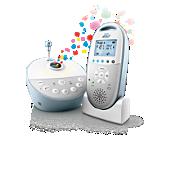 Avent Audio Monitors Écoute-bébé DECT