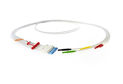 5-Leadset, DIN-to-tab adapter, Limb IEC Lead Set