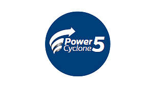 Tehnologija PowerCyclone 5 razdvaja prašinu i zrak u jednom potezu
