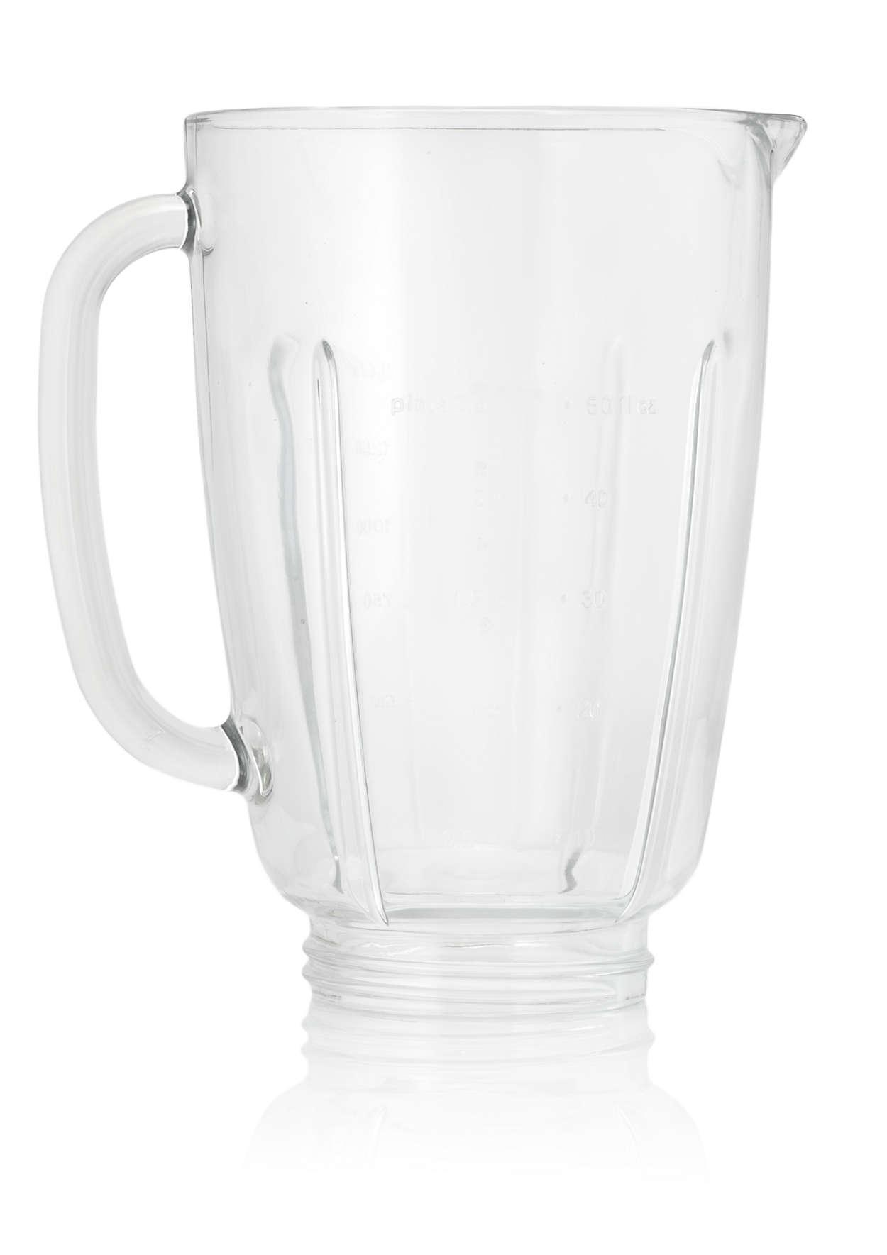Glasbecher für Ihren Mixer