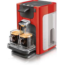 SENSEO® Quadrante Aparat de cafea cu paduri