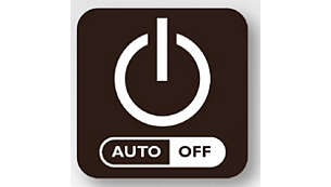 Automatische uitschakeling na 30 minuten voor energiebesparing en veiligheid