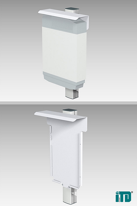 IntelliVue MP90 CPU Wall Mounting Mounting solution