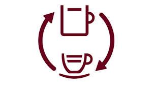 De smaak van filterkoffie van verse bonen met CoffeeSwitch