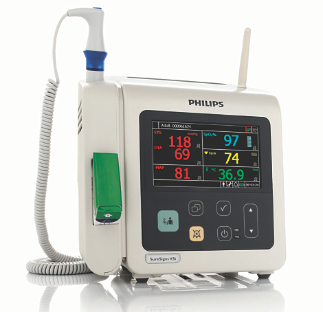SureSigns VSi - NBP/SPO₂/Temp/Wireless Vital signs monitor