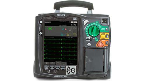 Philips - HeartStart MRx Monitor/Defibrillator for emergency care