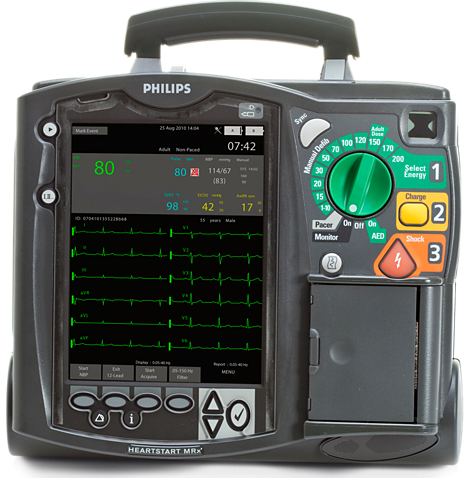 HeartStart MRx Monitor/Defibrillator for emergency care