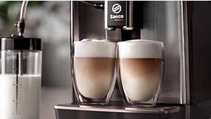 LatteDuo: pripravite se in uživajte v dvojni količini raznovrstnih napitkov