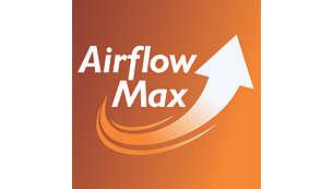 Revolucionarna tehnologija AirflowMax za visoko moč sesanja