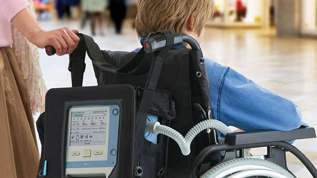 Continuous respiratory support for added freedom and mobility