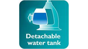 Large detachable water tank
