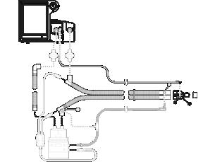 V680 Ventilator Verwendung bei nur einem Patienten Schlauchsystem