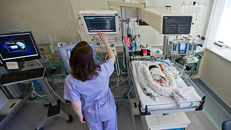 Provides data to support neonatal decisions