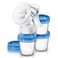 Avent Ручной молокоотсос серии Natural с контейнерами