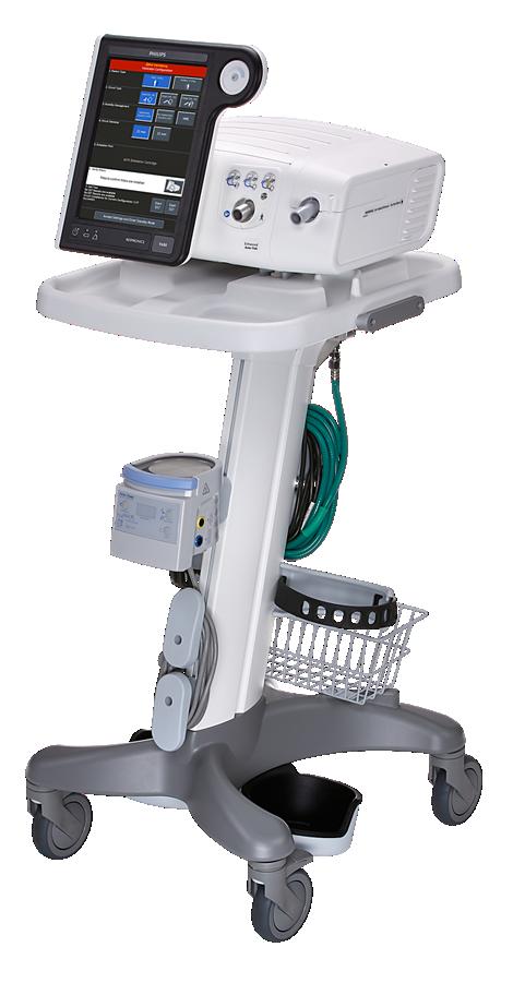 Respironics V680 Respirador para cuidados críticos