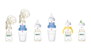 All Avent nipple and spouts can be used