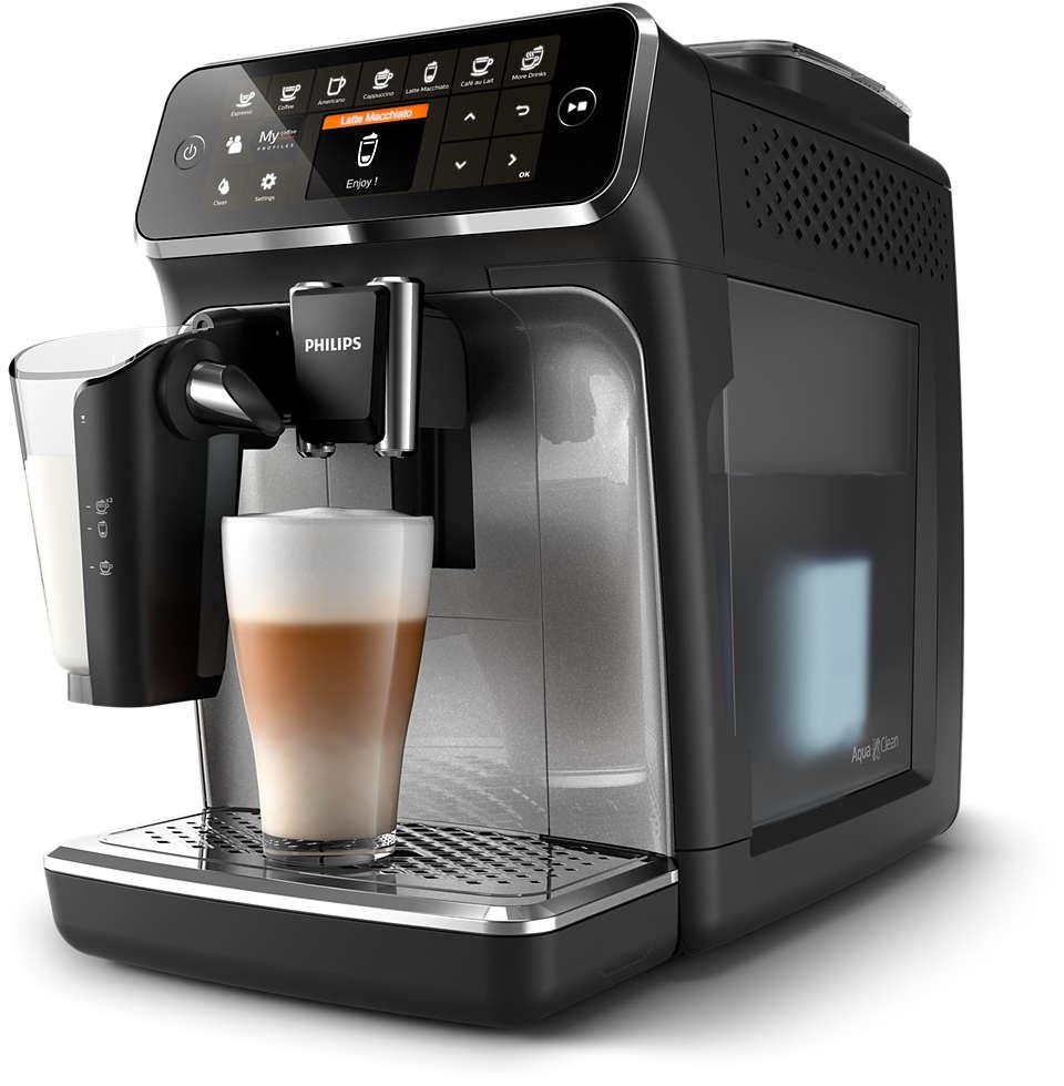 8 heerlijke koppen koffie van verse bonen, eenvoudiger dan ooit