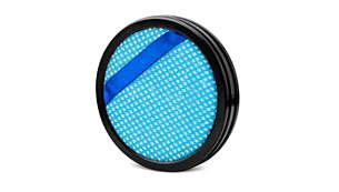 Tehnologia filtrului cu 3 straturi captează microparticulele