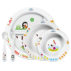 SCF716/00 Philips Avent Toddler mealtime set 6m+