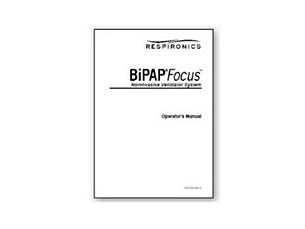 BiPAP Focus Handbuch für klinisches Personal Englisch