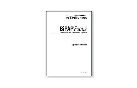 BiPAP Focus Clinical Manual English