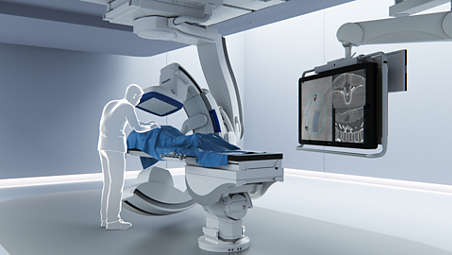 Reduce cone-beam CT radiation dose during spine procedures