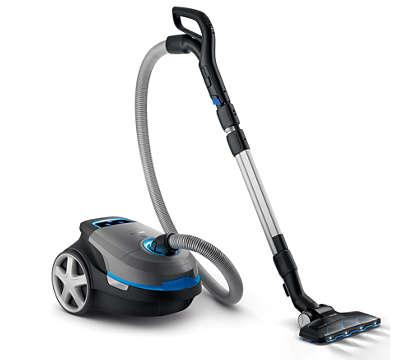 Wysoka efektywność. Dokładne sprzątanie.