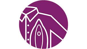Veilig op alle strijkbare kledingstukken. Gegarandeerd zonder schroeiplekken