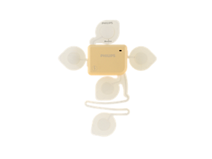 Avalon beltless fetal monitoring solution Cableless fetal and maternal pod with adhesive patch