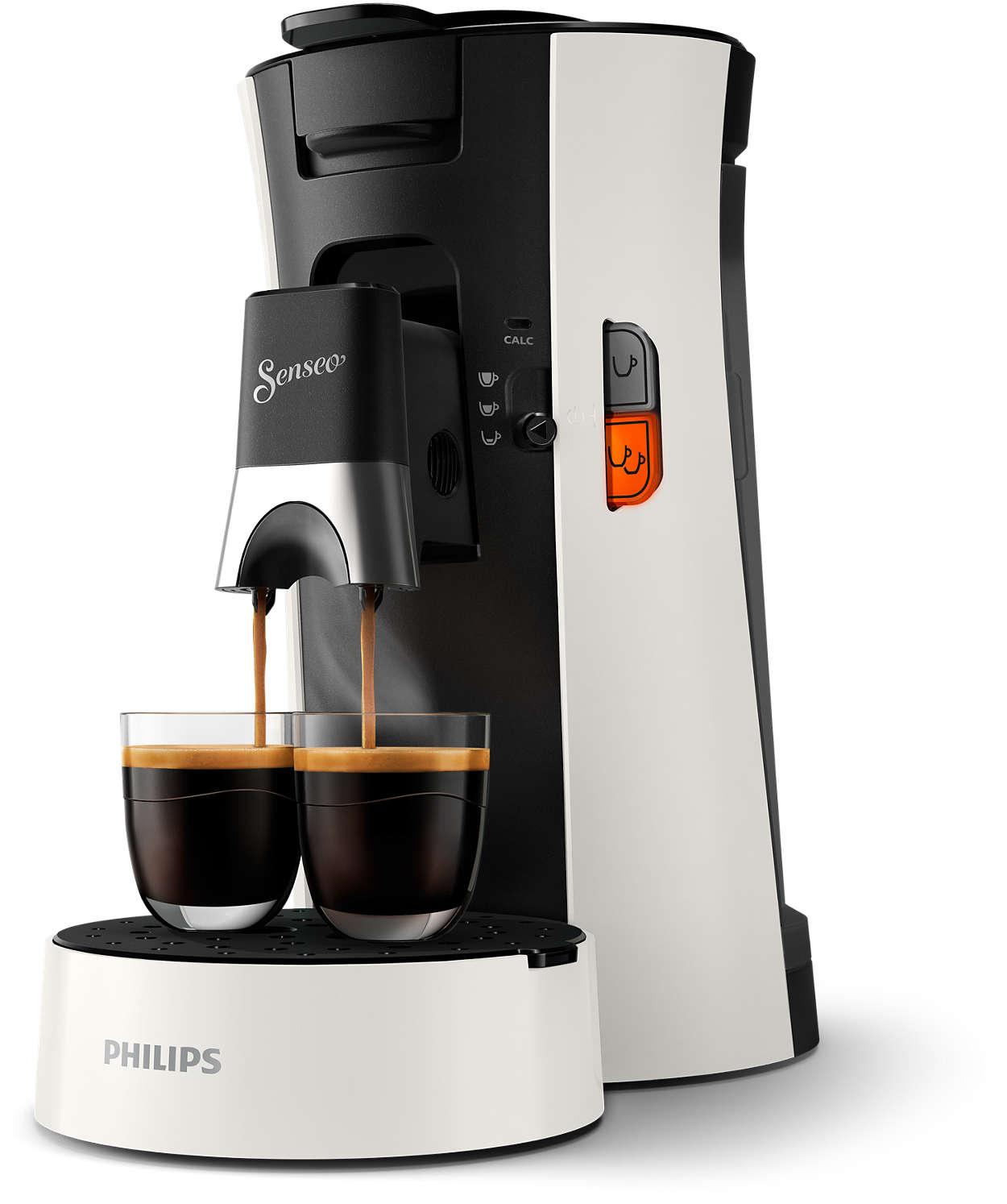 Long, intense ou espresso: toujours SENSEO®