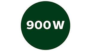 Kraftfuld 900W motor