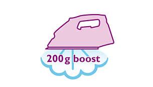Stoomstoot van 200 g voor hardnekkige kreuken