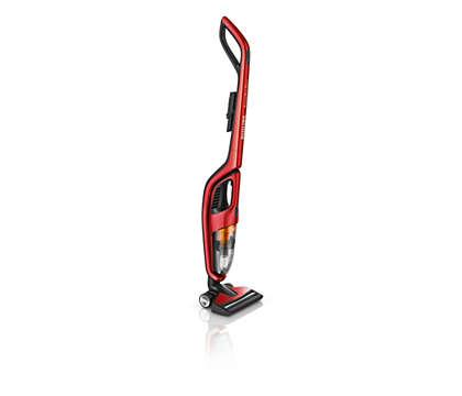 Risultati di pulizia ottimali su tutti i pavimenti