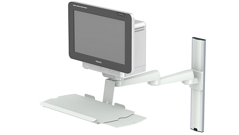 Double pivot arm Mounting solution