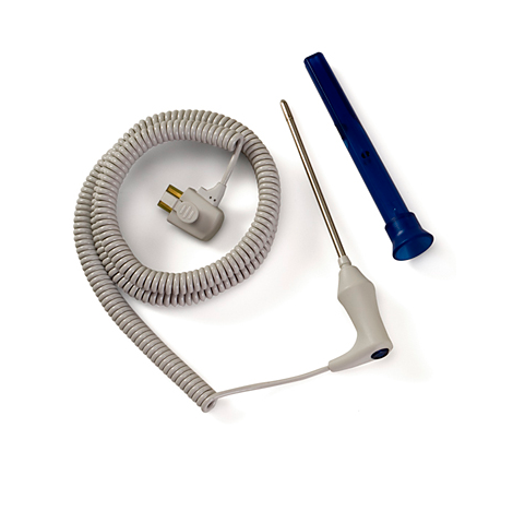 Reusable Oral Temp Probe & Well Kit predictive temp monitoring Sensor