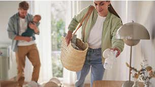 Idéal pour les mamans qui tirent leur lait en déplacement