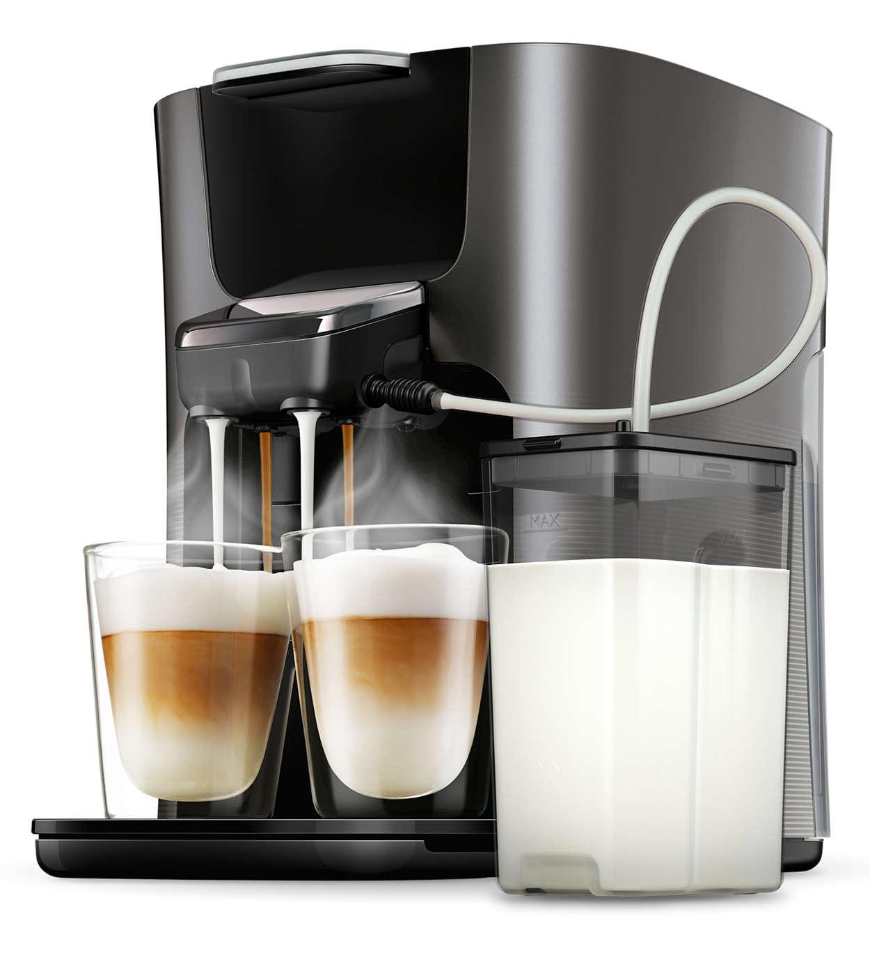 Geniet eenvoudiger dan ooit van uw favoriete cappuccino!