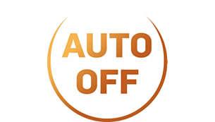 Direkte automatisk av-funksjon etter trakting for å spare strøm
