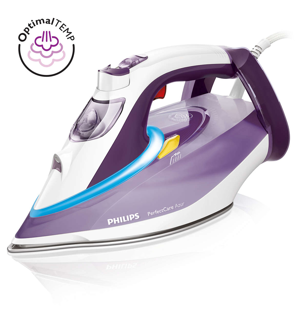 Carefree ironing, no setting required